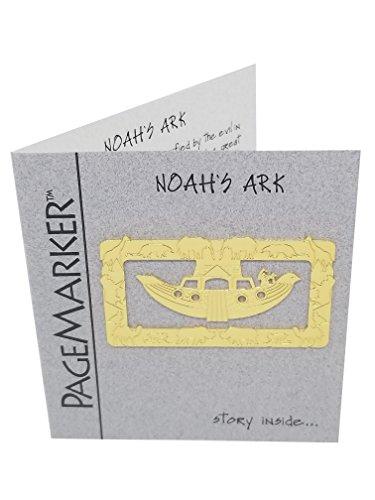 Noah's Ark Gold Plated Bookmark Noahs Ark Bookmark