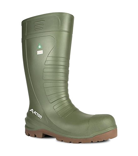 Acton All Terrain Men Work Boot (CSA), Green, Size 13