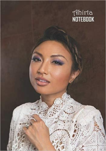 Notebook: Jeannie Mai Medium College Ruled Notebook 129 pages Lined 7 x 10 in (17.78 x 25.4 cm) - <strong>Ahirta</strong>