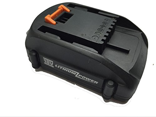 Waitley New Replacement battery Rechargeable Lithium WA3512.1 18V 1.3A for Worx 18V tools Slide style Also for Rockwell RW9161 JCB Truper Earbauer Cordlless