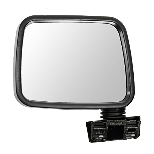 Mirror Manual Black LH Left Driver side for 88-93 Isuzu Pup Pickup ()