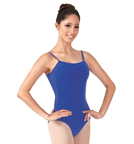 Adult Camisole Cotton Dance Leotard,N5500ROYM,Royal,Medium