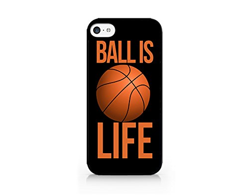 Ball Is Life - Basketball Is Life - iPhone 5C Black Case (C) Andre Gift Shop (Jordan Michael 4s Case Iphone)
