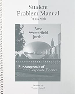 student problem manual to accompany fundamentals of corporate rh amazon co uk Student Solution Manual Student Solution Manual