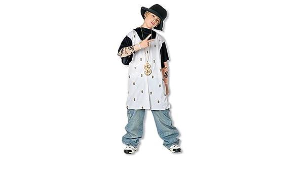 Niño rapero vestuario L: Amazon.es: Juguetes y juegos