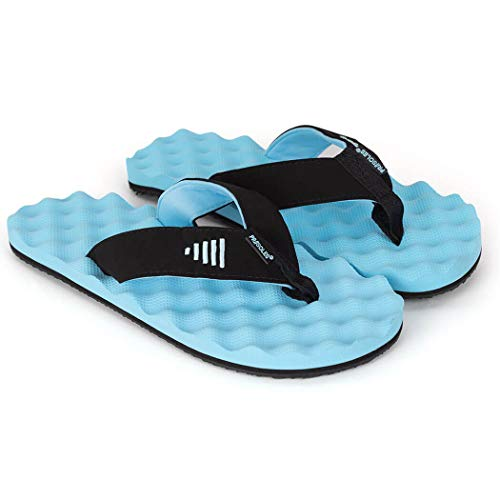 PR Soles Athletic Recovery Flip Flops V2 | Men's & Women's | Carolina | XL ()