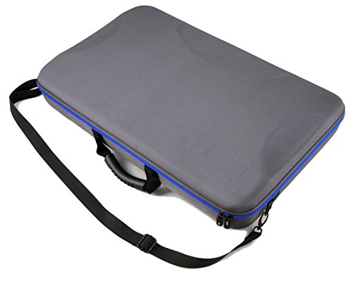 DJ Controller Bag Case For Numark Mixtrack 3 , Mixtrack Pro 3 and Mixtrack Platinum All In One DJ Controller Mixer and Cables – Built in Travel Handle W/ Impact Resistant Decksaver Protection