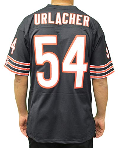 new product 813ba 74816 Mitchell & Ness Brian Urlacher Chicago Bears Throwback Replica Jersey