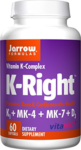 Jarrow Formulas K-Right 60 Softgels (2 Pack) by Jarrow