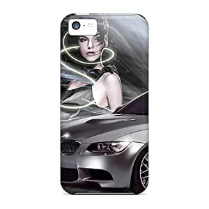 High Quality Hard Phone Cover For Iphone 5c (tuw3028QklC) Support Personal Customs Realistic Bmw Pattern