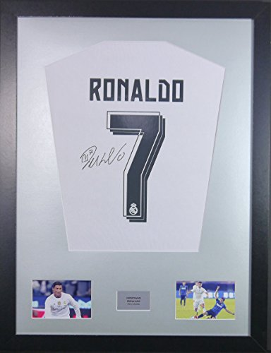 0d5b53ecfb1 Cristiano Ronaldo Real Madrid Signed Shirt Display with COA - Buy ...