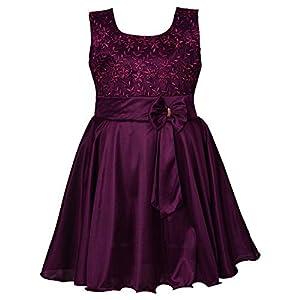 Wish Karo Baby Girls Frock Birthday Dress for Girls – Lycra – (fe2644)