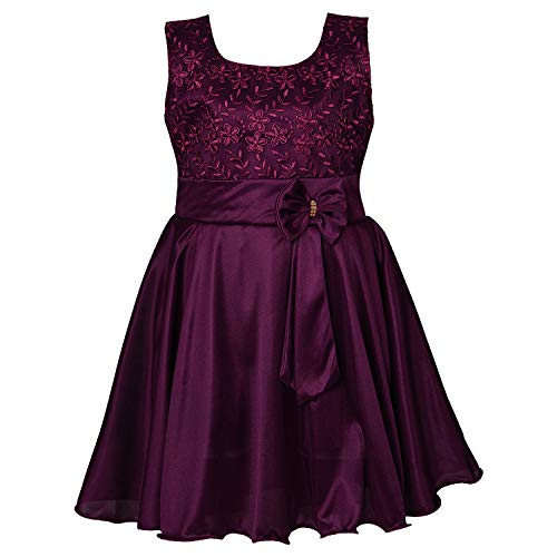 Wish Karo Baby Girl's A-Line Knee Length Dress