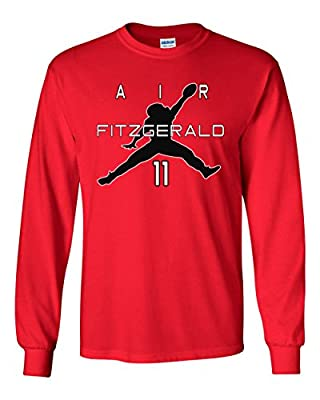 "The Silo LONG SLEEVE RED Arizona ""Air Fitzgerald"" T-Shirt"