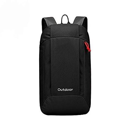 WOYYHO Mini Black Backpack Purse Lightweight Daypack Nylon Little Strong  Hiking Backpack and Bookbags for Kids 3e441b5701