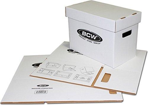 BCW (5) Magazine Storage Box Brand by BCW