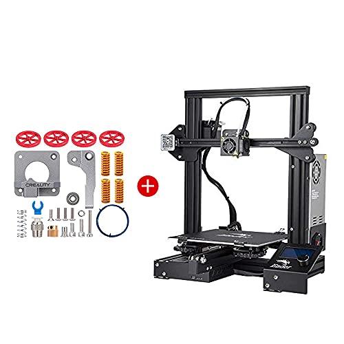 Creality Ender 3 3D Printer and Creality All Metal MK-8 Extruder Feeder Drive 3D Printer Kit