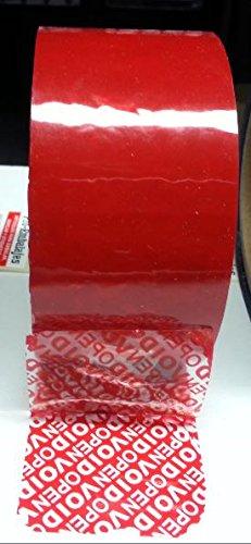 Cinta de seguridad OPEN/VOID - Color 50 mts x 50 mm. Color - rojo 4233c3