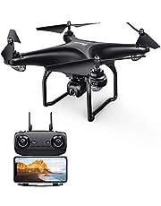 Potensic D58 Drone GPS con Cámara HD 1080P FPV, 5G WiFi Transmisión, RC Quadcopter 120 Ángulo Ajustable 90 ° Lente, Retorno Automático, Sígueme, Modo Órbita