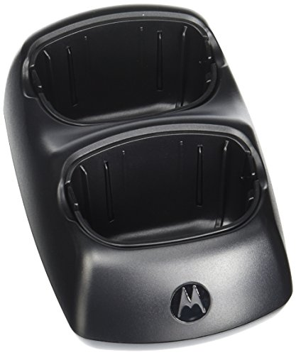 Motorola 1501 Desktop Charging Base for MT and MU Series Radios (Black) ()