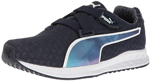 Puma Women's Burst Alt Pearl WN's Cross-Trainer Shoe Peacoat-puma White v2GaXdA