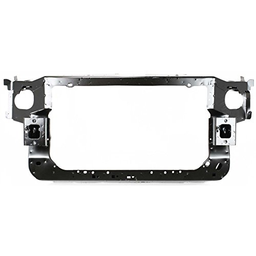 - Radiator Support for MUSTANG 99-04 Assembly Black Steel