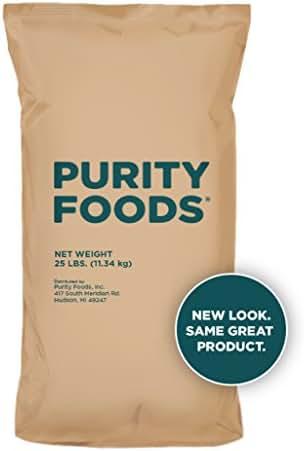 Purity Foods VitaSpelt Organic White Unbleached Spelt Flour 25 lb. bag
