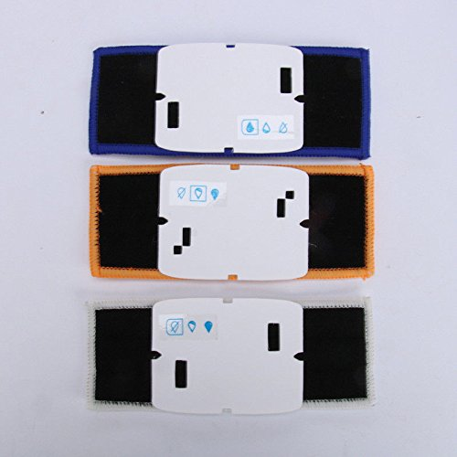 FidgetGear 1/3pcs Washable Cloth Wet Mopping Pads Replacment for iRobot Braava Jet 240/241 from FidgetGear