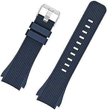 ساعة تيك واتش S2 - سوار ساعة ذكية سليكون من السليكون - ازرق داكن