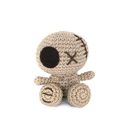 Amigurumi voodoo doll pair, Voodoo doll keychain, Crochet voodoo ... | 500x488