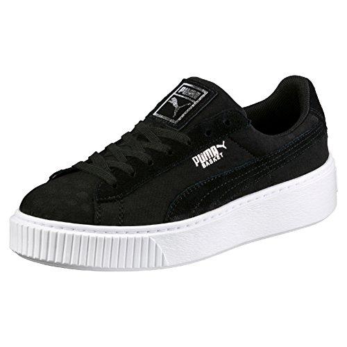 Puma Black Ginnastica black da Scarpe De Nero Basket Donna Basse Platform rzwrU