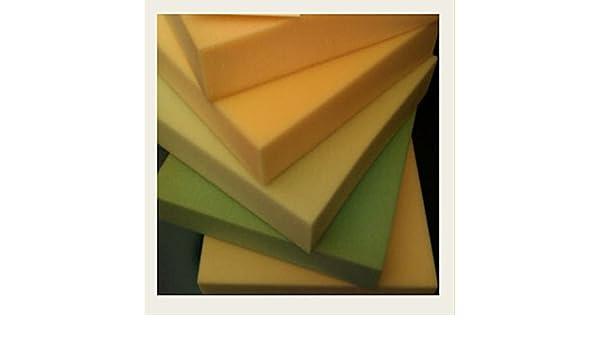 Lote de 10 placas cuadradas de espuma de poliuretano para tapicería de 40 x 40 x 3 cm (mobiliario, cojines de silla): Amazon.es: Hogar