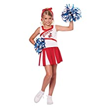 California Costumes High School Cheerleader Costume, 8-10 , One Color