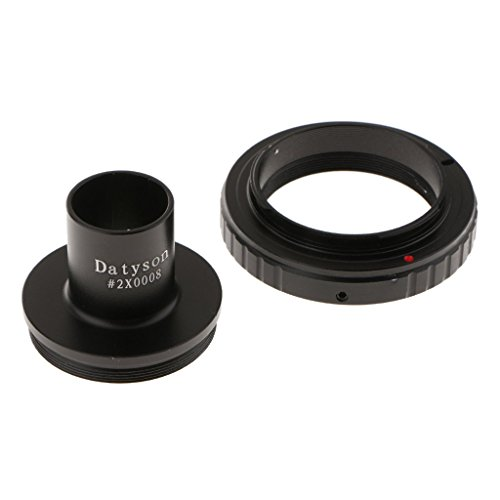 MagiDeal T T2 Ring For Olympus SLR Camera Lens + 0.91inch Microscope Mount Adapter -Black by Unknown