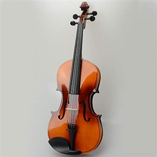 Genetic Los Angeles 15-Inch Antique Solid Wood Viola with Case, Bow, Rosin