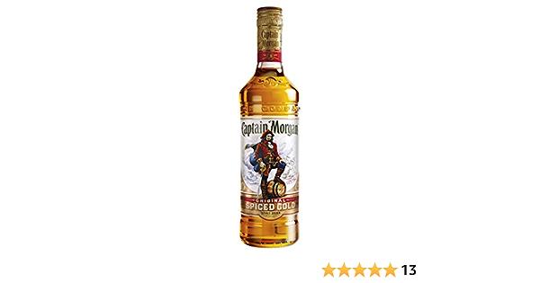 Captain Morgan - Original Spiced Gold - Whisky: Amazon.es ...
