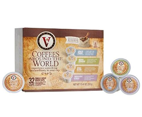 Victor Allen's Single Serve Coffees From Around the World, 32-Count