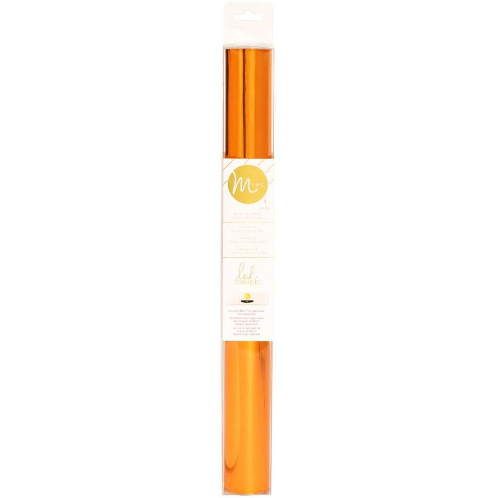 Heidi Swapp Minc Reactive Foil, 12'', Orange, for Arts and Crafting - 4-Pack