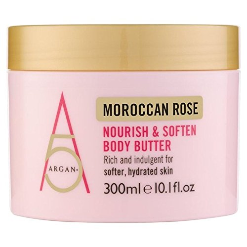 Argan+ Moroccan Rose Nourish Body Butter 300ml