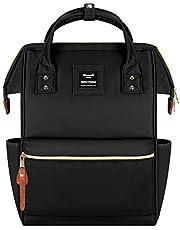 Hethrone Sac à Dos Femme 15.6 Sac à Dos Pc Antivol Imperméable Backpack pour Scolaire Voyage Travail Décontracté Noir