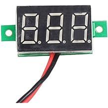 Battery Load Tester Volt Meter - Mini DC 2.5-30V 1pc LCD digital voltmeter ammeter voltimetro Red LED Amp amperimetro Volt Meter Gauge voltage meter DC Wholesale - Car Battery Tester