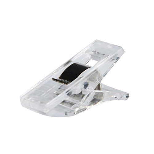 Iuhan 20 PCS Clear Sewing Craft Quilt Binding Plastic Clips Clamps Pack - You Do How Eyeglasses Measure