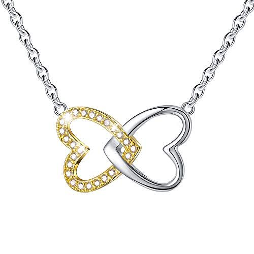 c20df6382b8 Esberry✦Gifts for Mother s Day✦18K Gold Plated 925 Sterling Silver Necklace  Pendant 5A