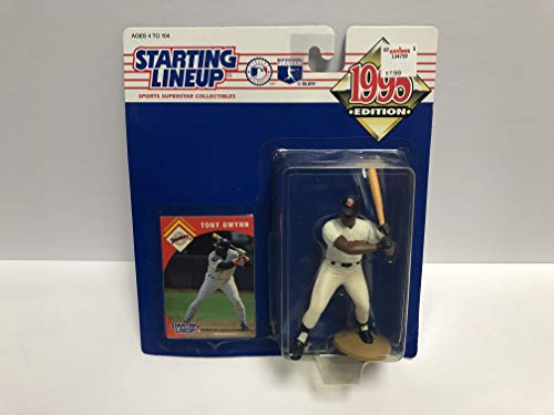 Tony Gwynn San Diego Padres 1995 SLU Collectible Toy Action Figure with Trading Card