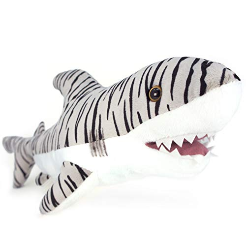 VIAHART Sheila The Tiger Shark | 1 1/2 Foot Long Stuffed Animal Plush | by Tiger Tale Toys