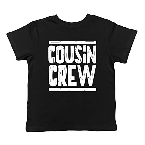 SpiritForged Apparel Cousin Crew Infant T-Shirt, Black 18 ()