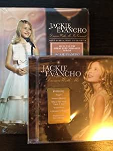 Jackie Evancho LIMITED EDITION 2 Pack Set Dream With Me In Concert DVD / Dream With Me CD