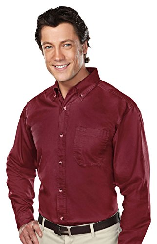 Tri Mountain 770 Professional W Dupont  Teflon Stain Resistant Shirt  Maroon  Xl