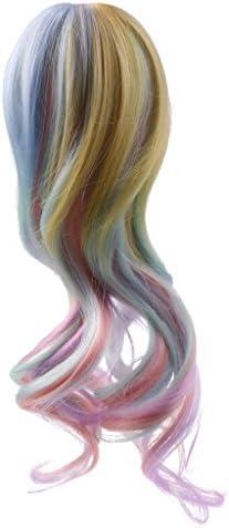 【ノーブランド品】 人形 ウィッグ ヘア  髪 かつら  1/3 1/4 BJD SDドール用   DIYメイキング  全6種類選べる  - 6, 1/3 BJD SD用