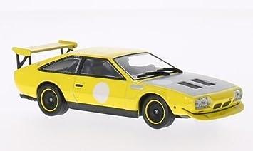 Amazon Com Lamborghini Jarama Rally Yellow 1973 Model Car